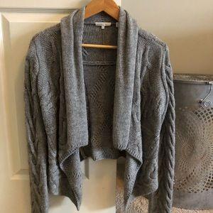 VINCE wool cropped Cardi